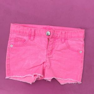 Pink Justice Jean Shorts